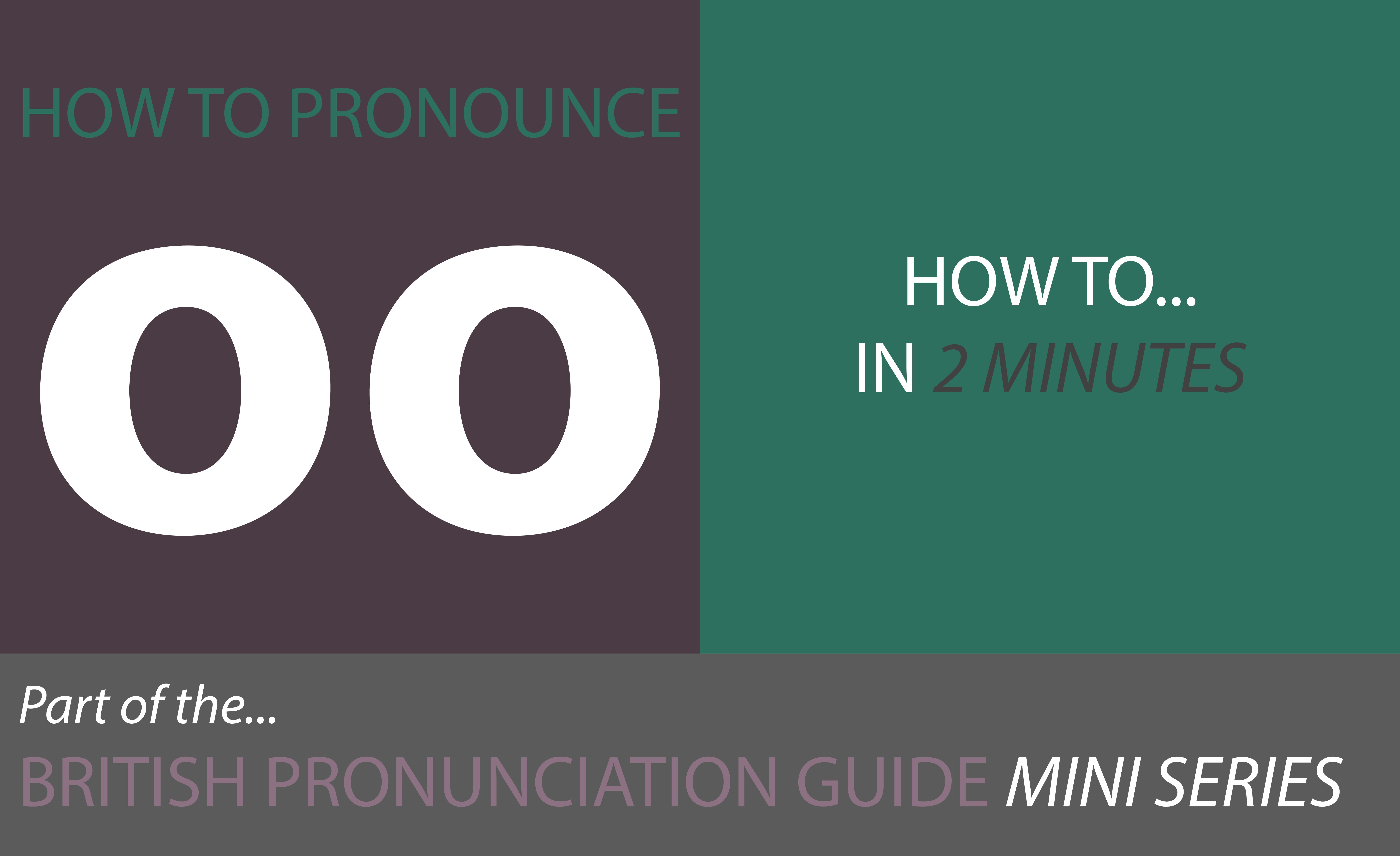how to pronounce vowel sounds long vowel sounds oo