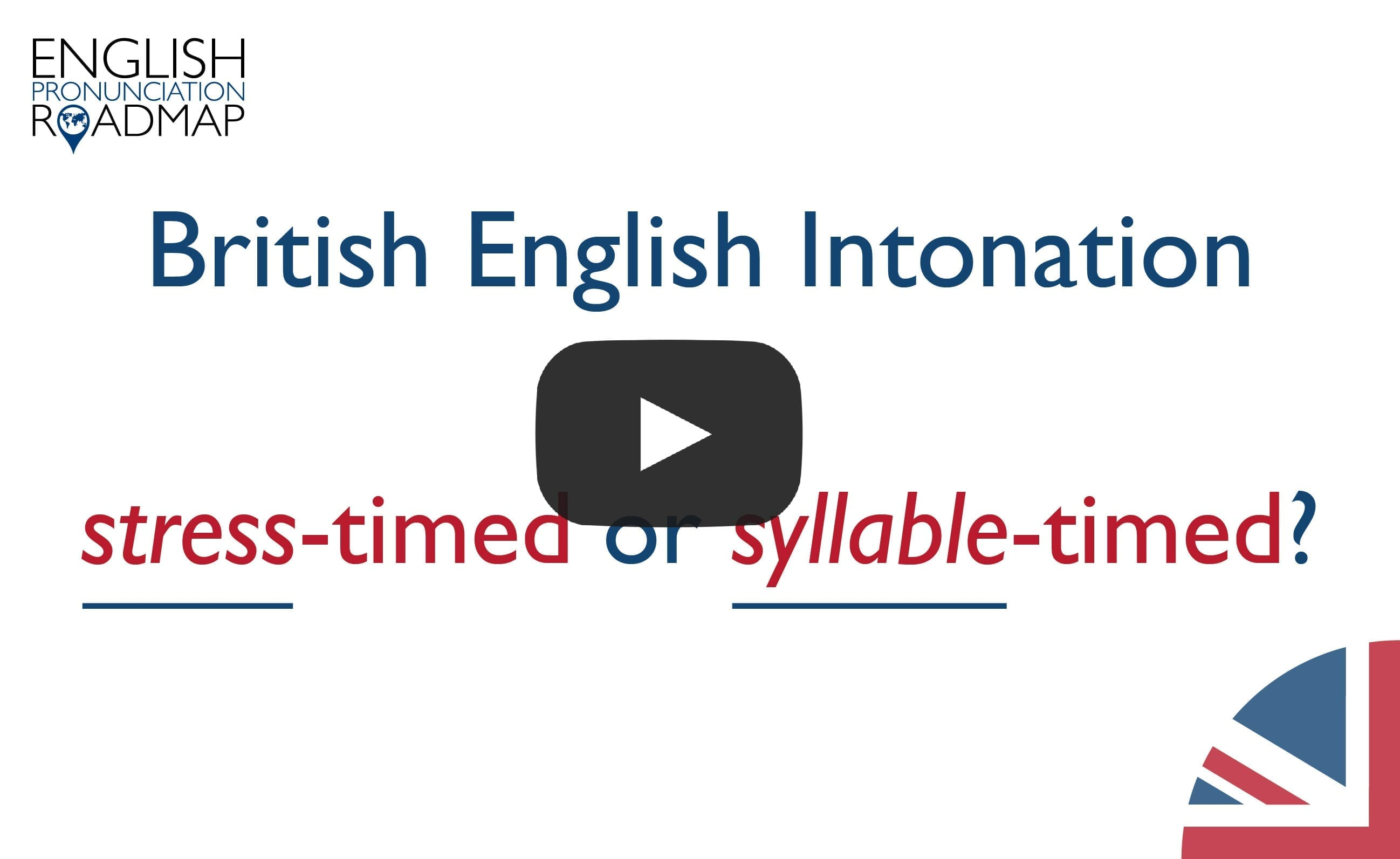 Intonation patterns in English
