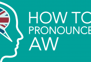 how to pronounce aw